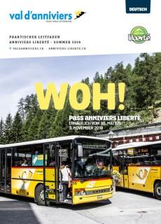 Praktischer Leitfaden Anniviers Liberté - Sommer 2019